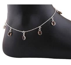 Cut Stone Anklets