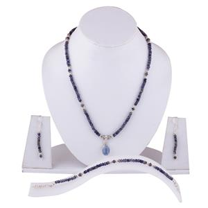 Cut Stone necklace set
